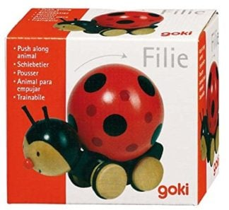Whirligig Toys Wooden Ladybird Toy