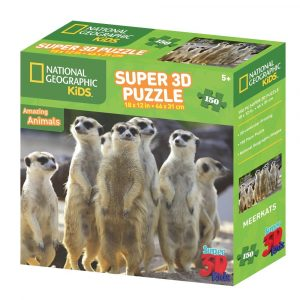 National Geographic Jigsaw - Meerkats