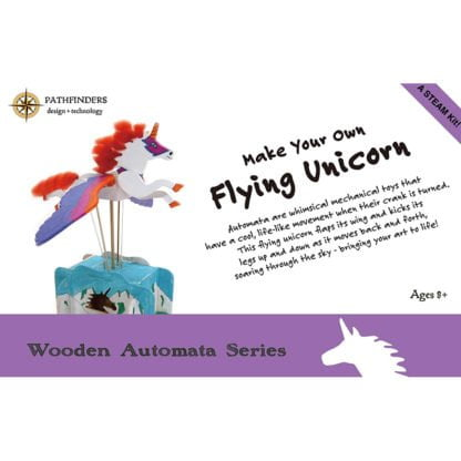 Whirligig Toys - Unicorn Wooden Model 1
