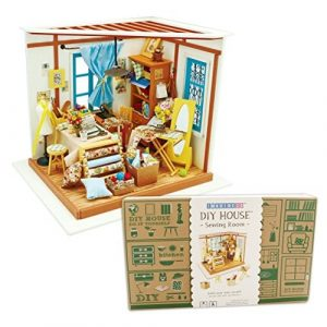 Miniature Sewing Room - Whirligig Toys