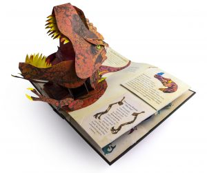 Dinosaur Pop Up Book - Whirligig Toys