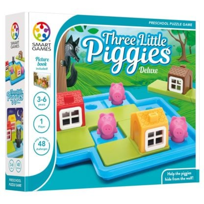Whirligig Toys - 3 Little Piggies Logic Game 1