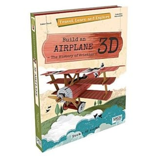 Whirligig Toys - 3D Airplane Model 1