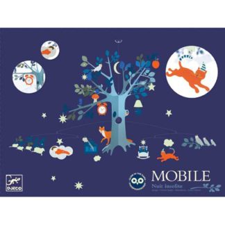 Whirligig Toys - Djeco Unusual Night Mobile 1