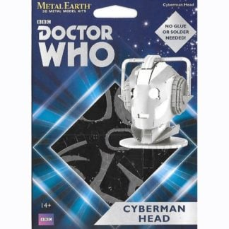 Whirligig Toys - Metal Earth Cyberman Head 1