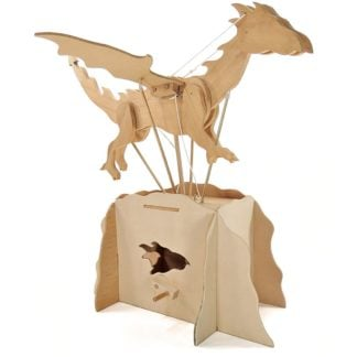 Whirligig Toys - Wooden Dragon Model 1