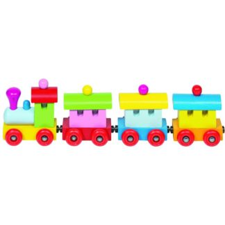 Whirligig Toys - Wooden Magnetic Train 2