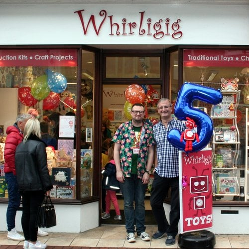 Whirligig Brighton Toyshop 5th Birthday