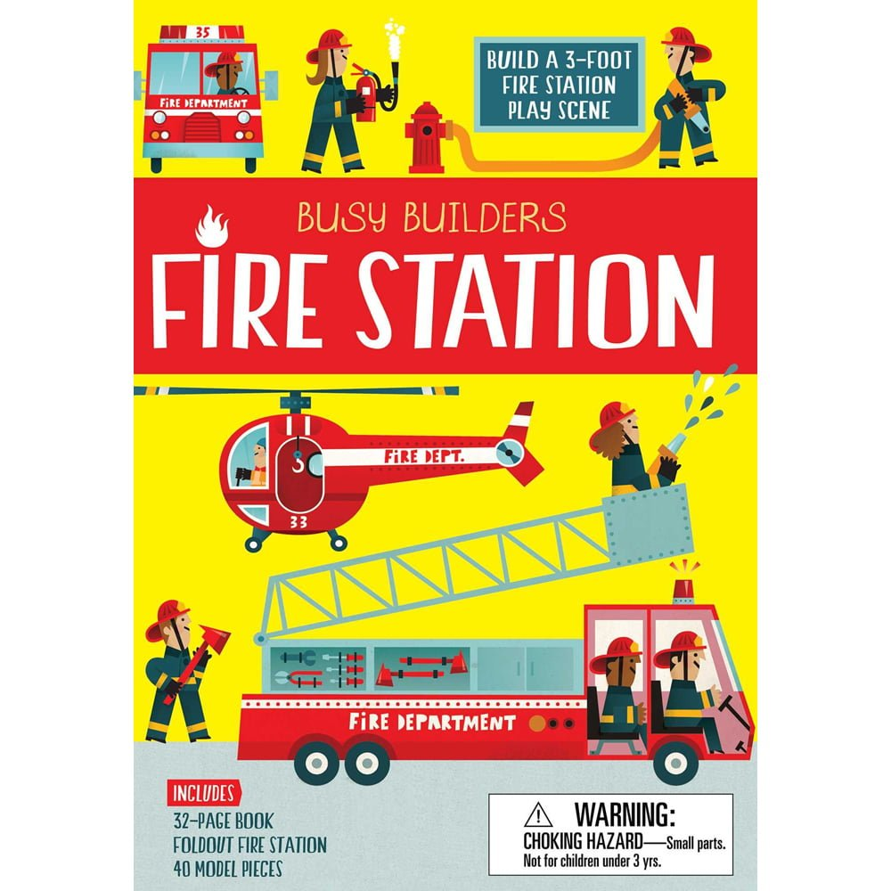 Whirligig Toys - Busy Build Fire Station 1