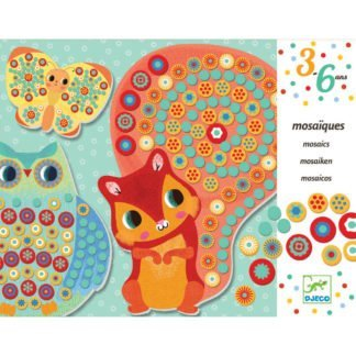 Whirligig Toys - Djeco Button Mosaic Squirrel 1