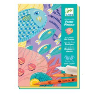 Whirligig Toys - Djeco Felt Brush Fish 1