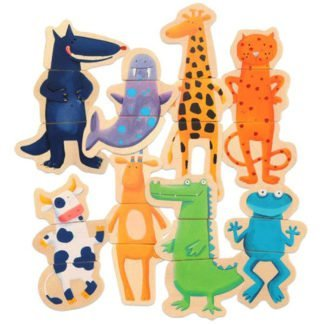 Whirligig Toys - Djeco Magnetic Animals 2