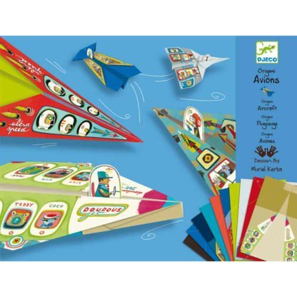 Whirligig Toys - Djeco Paper Planes 1