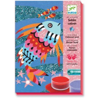 Whirligig Toys - Djeco Sand Art Fishes 1