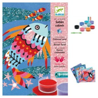 Whirligig Toys - Djeco Sand Art Fishes 2