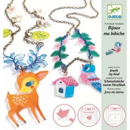 Whirligig Toys - Djeco Shrink Jewels 1
