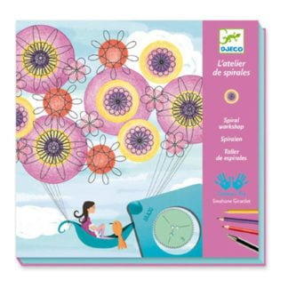 Whirligig Toys - Djeco Spiral Flowers 1