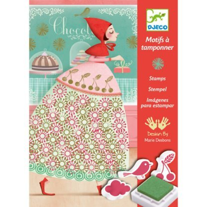 Whirligig Toys - Djeco Stamping Dresses 1