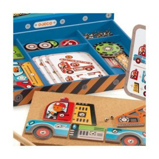 Whirligig Toys - Djeco Tap Tap Vehicles 2