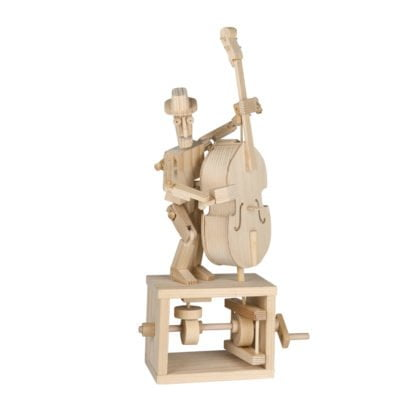 Whirligig Toys - Double Bass Wooden Model 1