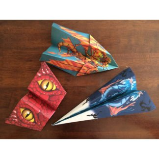 Whirligig Toys - Dragon Paper Planes 2