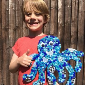 Whirligig Toys I Made This Mosaic Octopus