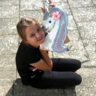 Whirligig Toys I Made This Mosaic Unicorn1