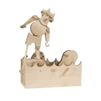 Whirligig Toys - Wooden Pirate Model 1