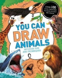 Whirligig Toys - Your Can Draw Animals