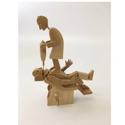 Whirligig Toys Demon Dentist Wooden Model