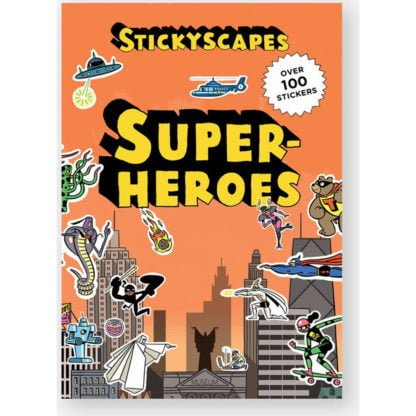Whirligig Toys - Superhero Stickerscape 1