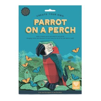 Whirligig Toys - Make Your Own Parrrot