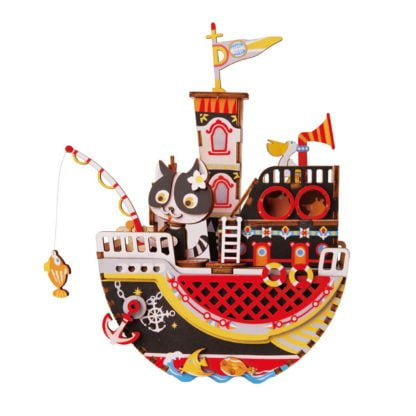 Whirligig Toys - Music Box Fishing Kity
