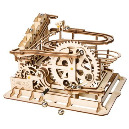 Whirligig Toys - Waterwheel Rollercoaster Wooden Model