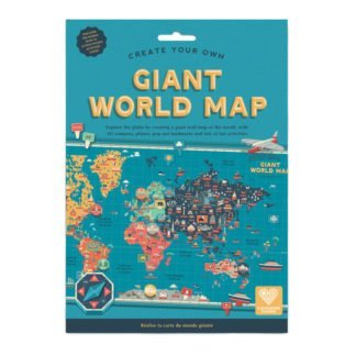 Whirligig Toys - Giant World Map
