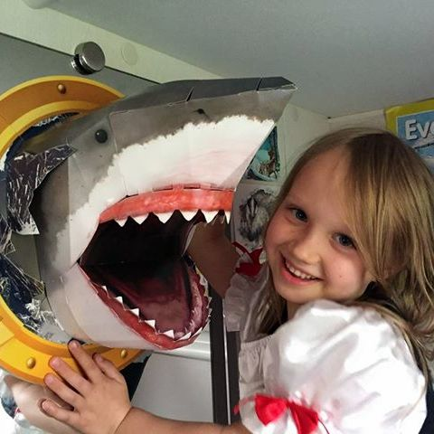 Whirligig Toys I Made This Shark Head