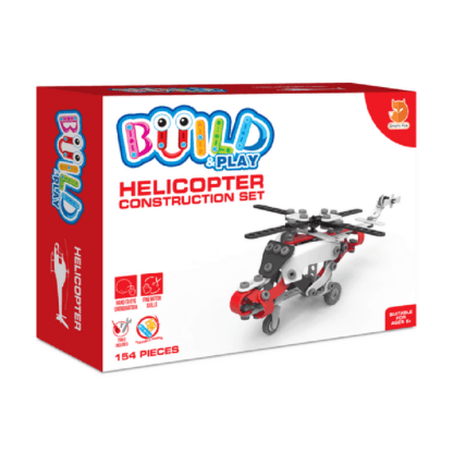 Whirligig Toys - Build & Play Helicopter 1