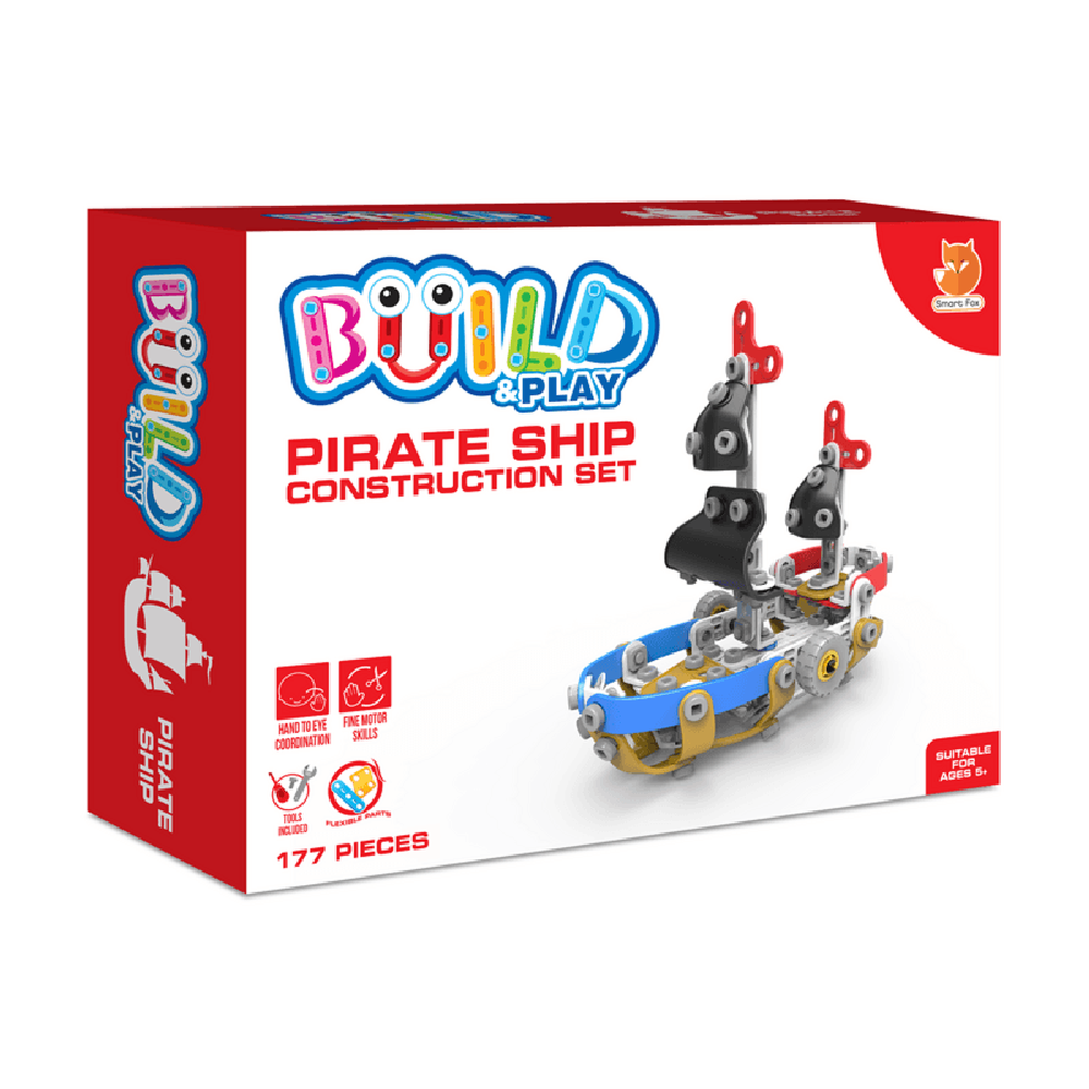 Whirligig Toys - Build & Play Pirate Ship 1