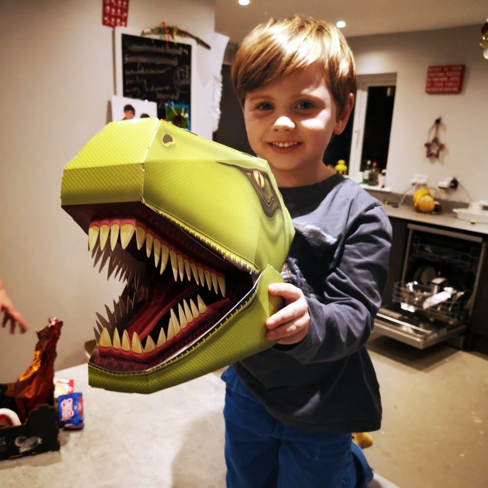 Whirligig Toys I Made This T-Rex Head