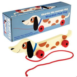 Whirligig Toys - Wooden Pullalong Dog2