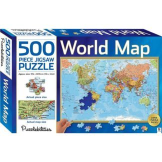 Whirligig Toys - World Map Puzzle