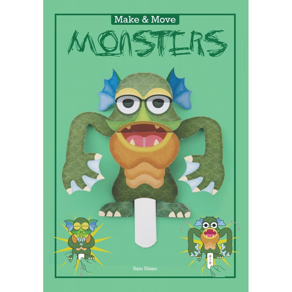 Whirligig Toys - Make & Move Monsters