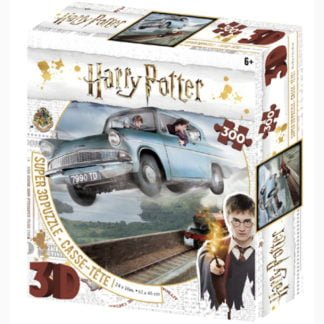Whirligig Toys - Harry Potter Jigsaw Flying Car