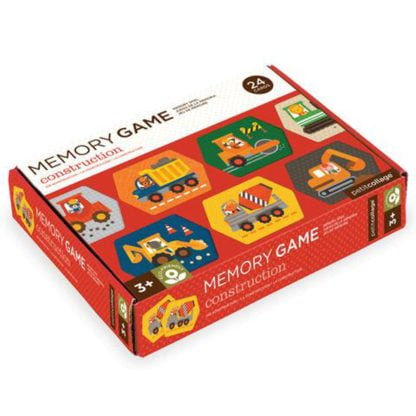 Whirligig Toys - Construction Memory Game1