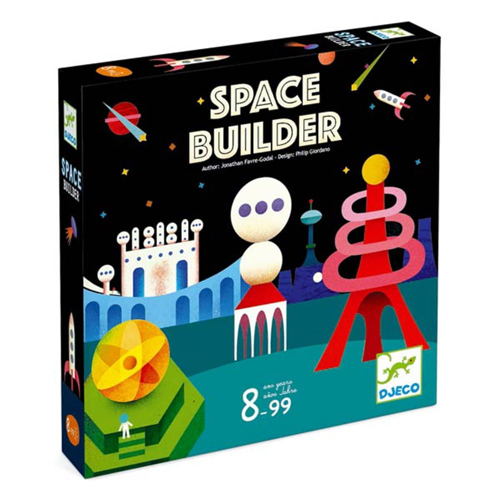 Whirligig Toys - Djeco Space Builder1