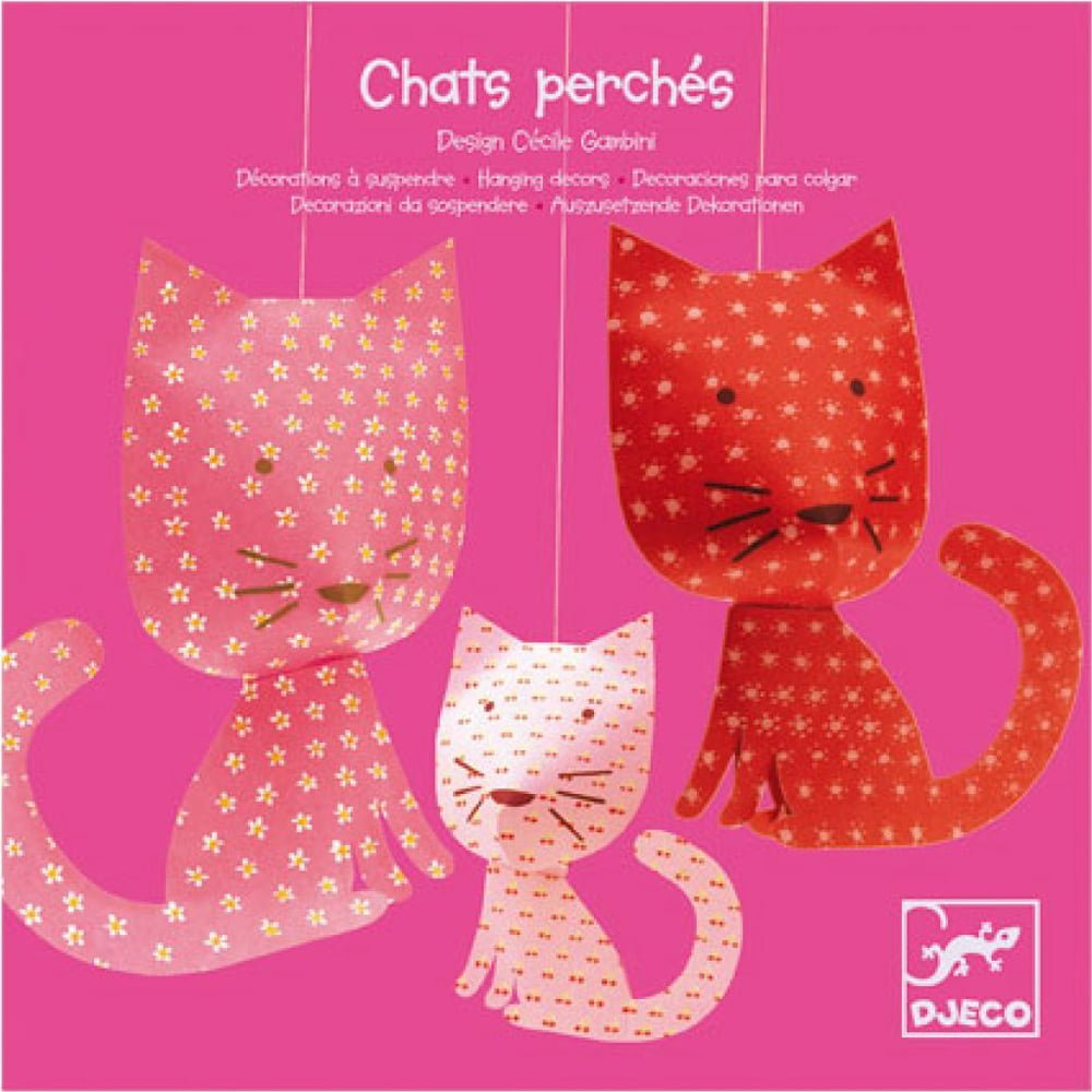 Whirligig Toys - Djeco Hanging Cats1