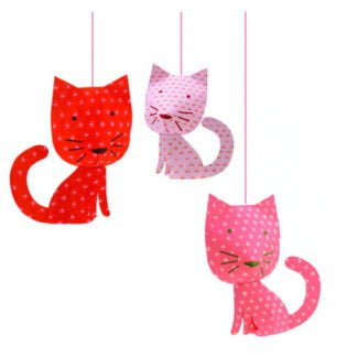 Whirligig Toys - Djeco Hanging Cats2