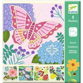 Whirligig Toys - Djeco Stencils Butterflies1