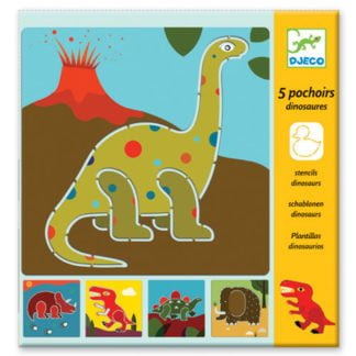 Whirligig Toys - Djeco Stencils Dinosaurs1