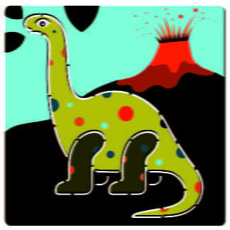 Whirligig Toys - Djeco Stencils Dinosaurs2